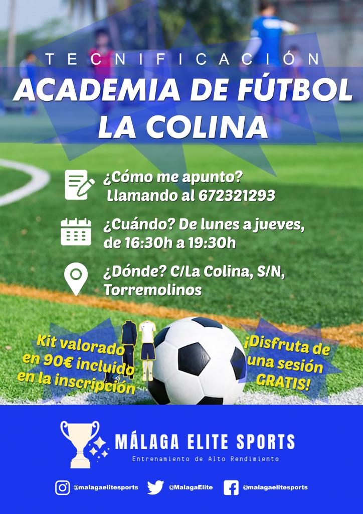 Escuela de tecnificación de Fútbol La Colina en Torremolinos