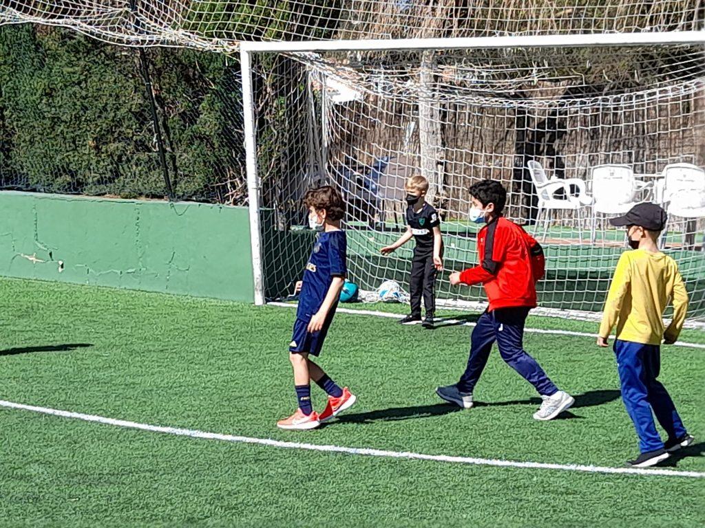 campamento fútbol