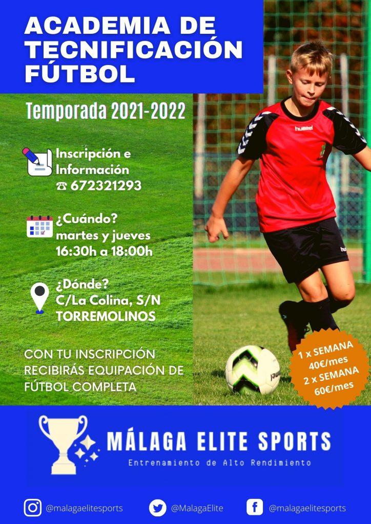 academia de fútbol temporada 2021-2022