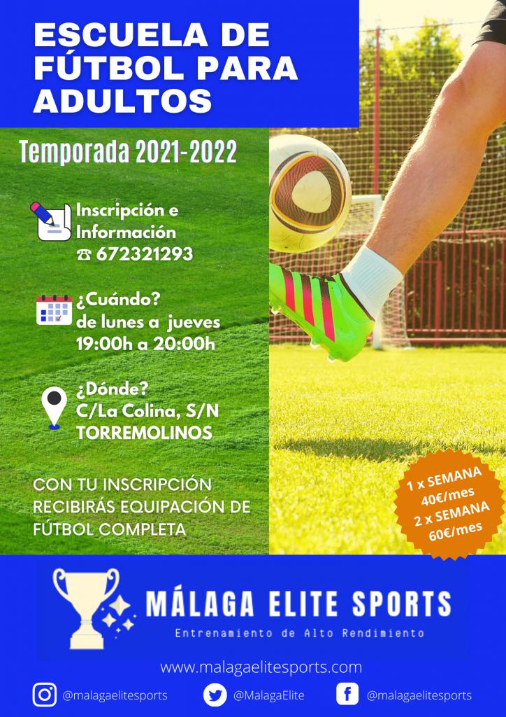 academia de fútbol para adultos-MALAGA ELITE SPORTS